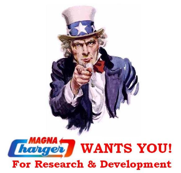 Magna Charger Wants You!